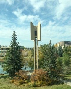 Ding dong, it's the carillon: Mount Royal University is among the few Canadian campuses to feature a bell tower that chimes on the hour and plays music. A live concert is planned Oct. 27 at noon.