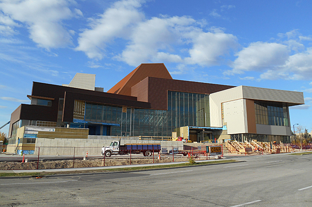 Mount Royal University Conservatory, Bella Concert Hall, Mount Royal Conservatory construction