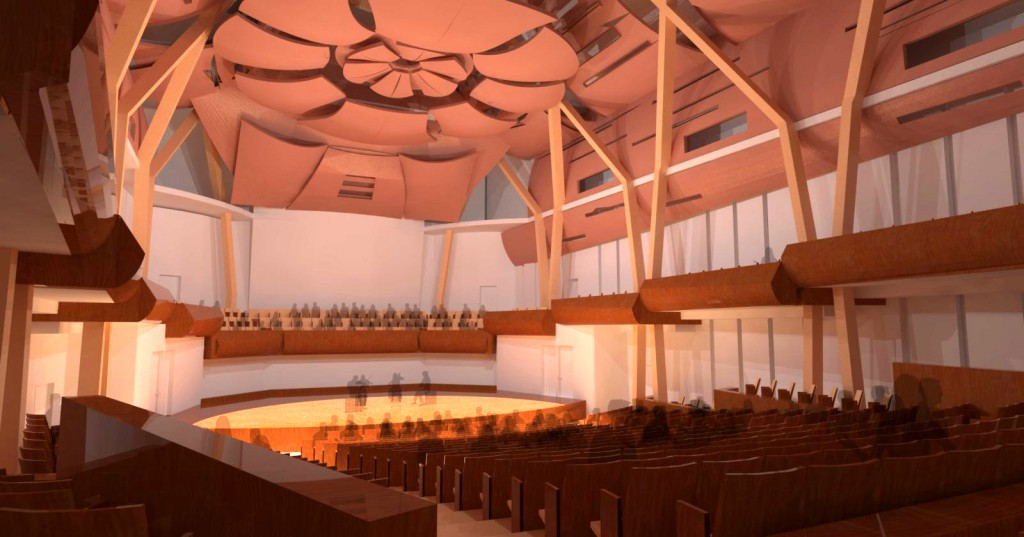 The Bella Concert Hall at Mount Royal University Conservatory: opening in August!