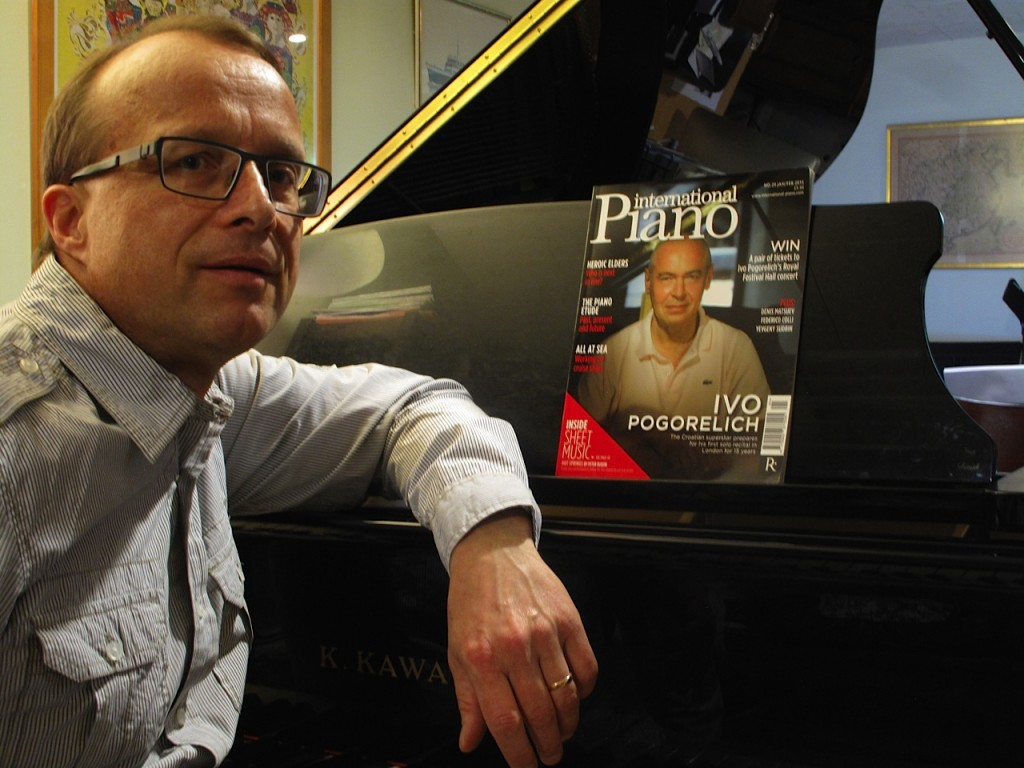 Conservatory branch faculty instructor Peter Rudzik is featured in International Piano for his composition, Hot Springs. A competition for best recording is on now.