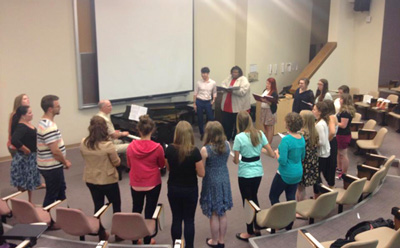Cowtown Opera Summer Academy 2014 Classroom